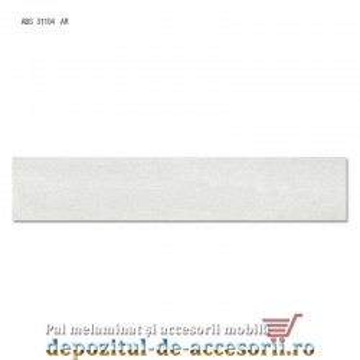 Cant ABS Gri deschis 22mm x 0,4mm pentru Pal Melaminat Egger U708-ST2