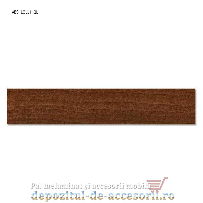 Cant ABS Nuc Aida tabac 22mm x 0,4mm Compatibil cu PAL Melaminat Nuc Aida tabac H3704 ST15 Egger