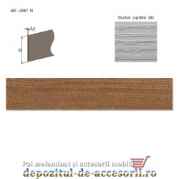 Mai multe despre Cant ABS Frasin Cassino maro 22mm x 0,4mm