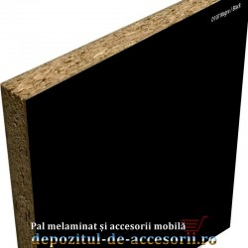 PAL Melaminat Negru D107