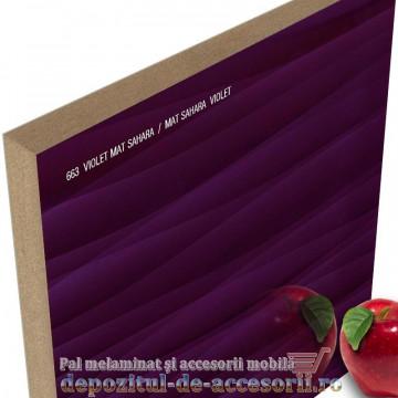 Panou MDF Violet Sahara 663 super lucios 3D AGT high gloss