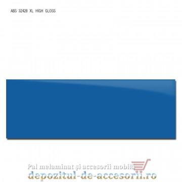 Cant ABS Albastru 43mm x 1mm super lucios (high gloss)