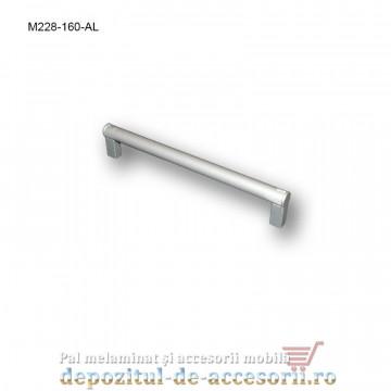 Mâner mobilier Aluminiu M228-160-AL