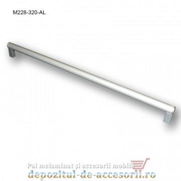 Mâner mobilier Aluminiu M228-320-AL