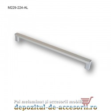 Mâner mobilier Aluminiu M229-224-AL
