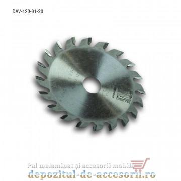Pânză incizor circular Ø120mm DAV Global Trading Italia