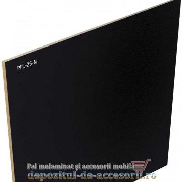 PFL melaminat HDF negru 2,5mm Egger