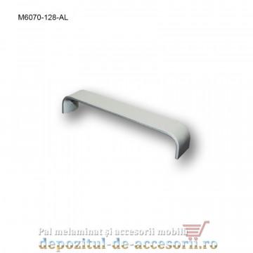 Mâner mobilier Aluminiu M6070-128-AL Satinat