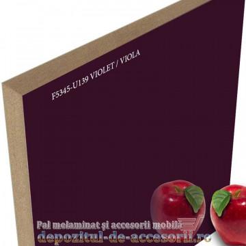 Mai multe despre Panou MDF Acrilic Violet super lucios Unilin high gloss
