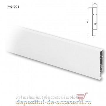 Profil aluminiu front sertar interior tip TANDEMBOX DTC