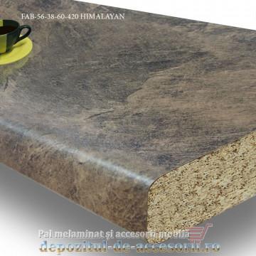 Blat de bucatarie mat 3D HIMALAYAN 38x600x4200mm FAB 56 FAB Grup