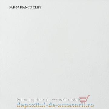 Blat de bucatarie mat 3D BIANCO CLIFF 38x600x4200mm FAB 57 FAB Grup