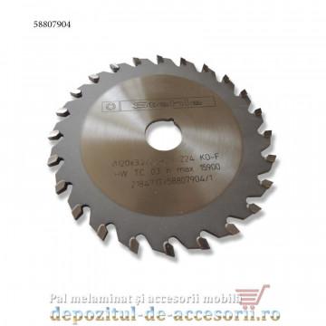 Panza incizor circular debitare PAL MDF Ø120mm Stehle