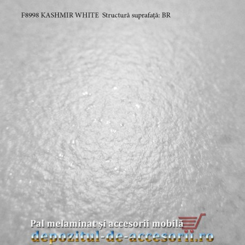 Blat de bucatarie mt 3D Kashmir White 38x600x4100mm Pfleiderer F8998 BR structura suprafata