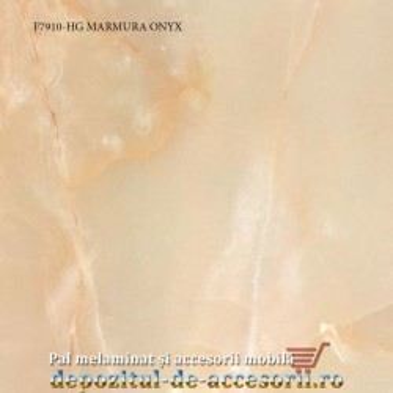 Blat de bucatarie MARMURA ONYX lucios 38x600x4100mm F7910 HG Pfleiderer high gloss