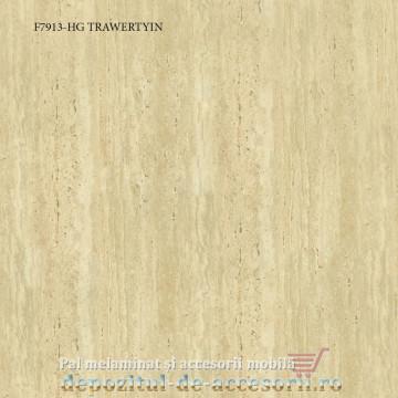 Blat de bucatarie TRAWERTYIN lucios 38x600x4100mm Pfleiderer F7913 HG high gloss