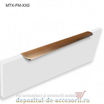 Mâner mobilier MTX-MN-450, INOX 450mm sampanie
