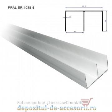 Sina dubla superioara pentru PKM70 lungimea 4m aluminiu