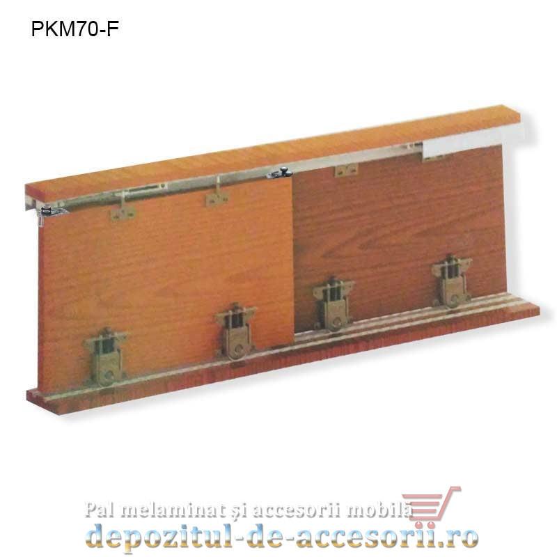 Sistem glisare PKM70-F pentru usi dressing cu soft close Cagberk