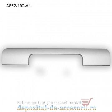 Maner mobilier Aluminiu A672-192-AL Satinat