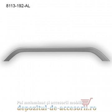 Mâner mobilier Aluminiu A672-192-AL Satinat