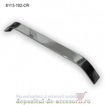 Maner mobilier Aluminiu M8113-192-CR Cromat