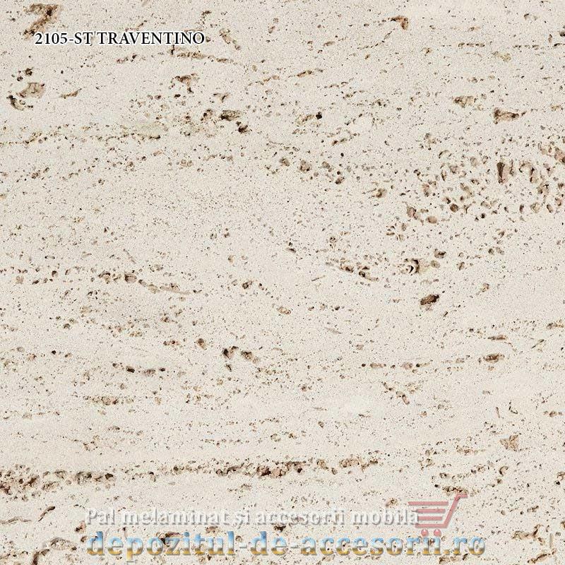 Blat bucatarie TRAVENTINO 2105-ST 38x600x4100 Krono Swiss