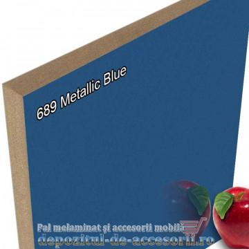 Panou MDF Metallic Blue super lucios 689 AGT HG