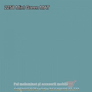 Panou MDF 2258 Mint Green super mat Arkopa